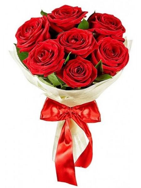 Букет из 7 роз